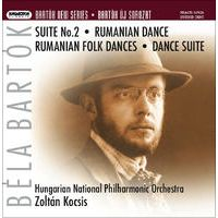 Bartók: Suite No. 2 for Orchestra, Rumanian Dance for Orchestra, Rumanian Folk Dances for Small Orchestra, Dance Suite for Orchestra; Suite No. 2 for Orchestra (1921 version) by Hungarian National Philharmonic Orchestra & Zoltán Kocsis