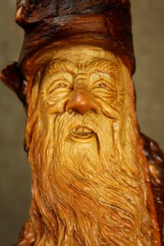 A face wood carving wood spirit ooak Christmas wall decor present, The best unique unusual gift for any occasion by treewiz