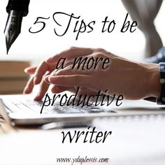 5 Tips for being a more productive writer⠀ ⠀ So you want to be a more productive writer? So do I. At times I am really productive and at other times, I am the queen of procrastination.⠀ ⠀ Read more by going to www.yduplessis.com/blog⠀ #writing #planning #outline #environment #sleep #writer A Writer's Life, How To Stop Procrastinating, Fiction And Nonfiction, Read More, Outline, Productivity, Stuff To Do, Environment, Author