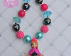 Frozen  Anna Necklace