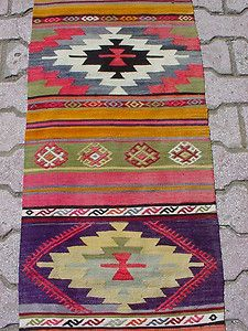 turkish rugs and pillows via ebay