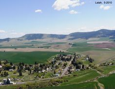 Latah, WA I think is the best little town on the Palouse.