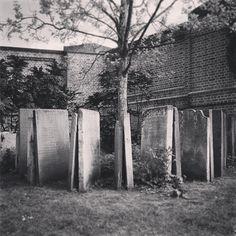 St Pancras garden, burial site of St Pancras Old Church.