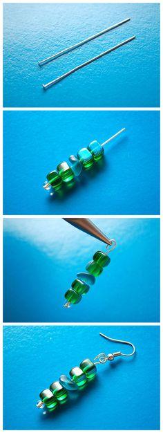 How to Make Bead Earrings