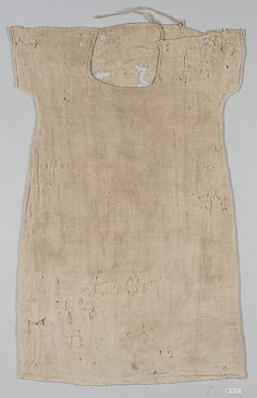 Child's Tunic  Object Name:     Tunic  Date:     5th–9th century  Geography:     Egypt  Culture:     Coptic  Medium:     Wool, linen; plain weave  Classification:     Textiles  Credit Line:     Purchase by subscription, 1889  Accession Number:     89.18.317