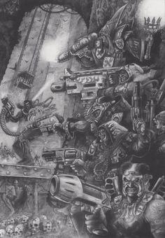 Redemptionist - Van saar - Necromunda - Warhammer 40K - GW