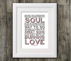 Elvis Presley Burning Love . 8x10 picture mount by RTprintdesigns, £8.99