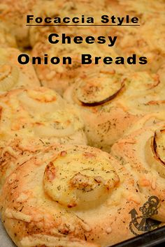 better and healthier than the store bought ones. Yummy Treats, Yummy Food, Tasty, Onion Bread, Cheese Pairings, Cheesy Recipes, Polish Recipes, Quick Bread, Everyday Food