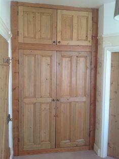 matching set of doors and handles. Victorian Door, Cupboard Doors, Matching Set, Spare Room, Home Renovation, Tall Cabinet Storage, Pine, Profile, Interior Design