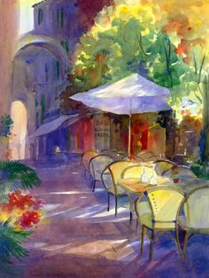 Cafe in Monaco ♥