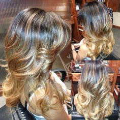 Hair on pinterest ombre ombre hair and ombre hair color for A j pinder salon grand rapids