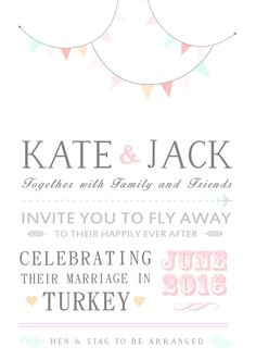 CUSTOM WEDDING INVITES by Becceve on Etsy