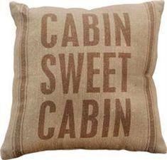 Cabin Decor ~ LOVE