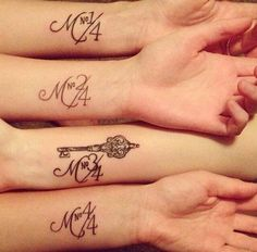 40 Forever Matching Tattoo Ideas For Best Friends (10)