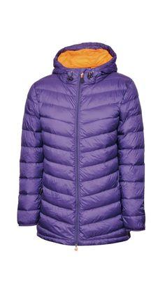Gondwana womens hooded loxton jacket black