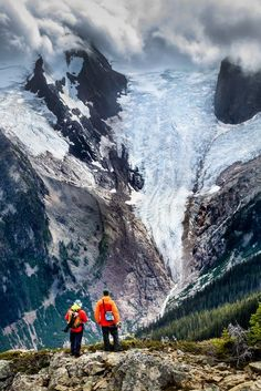 Bugaboo Glacier in the Purcell Mountains of British Columbia, Canada.