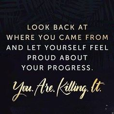 Thursday motivation : Apply this to everything & Be proud of your progress . Thursday motivation : Apply this to everything & Be proud of your progress . You are killing it : : Happy Quotes, Positive Quotes, Motivational Quotes, Funny Quotes, Inspirational Quotes, Positive Vibes, Qoutes, Quotes Quotes, Work Quotes