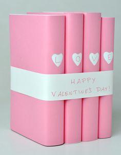 corazón heart rosa pink valentín valentine libro book miraquechulo