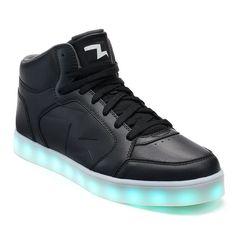 Skechers Energy Lights Men's Light-Up Shoes, Size: 8.5, Black