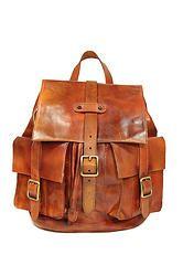 OT12041- City Traveller Backpack Cognac