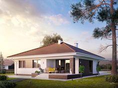 Kiwi 4 (115 m2) to nowy projekt w kolekcji domów parterowych. Pełna prezentacja projektu znajduje się na stronie: http://www.domywstylu.pl/projekt-domu-kiwi_4.php. #kiwi4 #projekty #projektyparterowe #domywstylu #mtmstyl #wnętrza #aranżacje