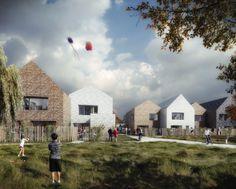 13 maisons PASSIVES Isolation en PAILLE et murs Ossature BOIS CHANTIER EN COURSMOE : NZI Architectes (mandataires)/ I+A Structures / PCetech Lieu : NOGENT LE ROTROU (28) MOA : OPH NOGENT PERCHE HABITAT SP : 1200 m2 Calendrier : Livraison prévue :...