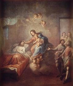 Miguel Cabrera - The Conversion of Saint Ignatius Loyola