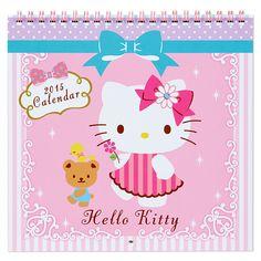 Hello Kitty Wall Calendar M Medium Size 2015 SANRIO JAPAN