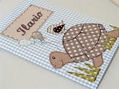 Umschlag für U-Heft inkl. Impfpasstasche von julis-fairy-tale auf DaWanda.com