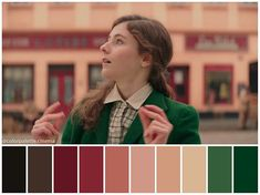 Colour Schemes, Color Combos, Colour Palettes, Movie Color Palette, Cinema Colours, Color In Film, Rabbit Colors, Film Poster Design, Color Script