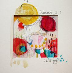 """Ursprüngliche Art Print - Fine Art Giclee Print """"Do you feel"""" Gemälde aus der Serie """"Music is..."""" - archivalische Druck"""