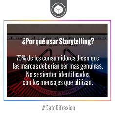 #Storytelling #MarketingDigital #DatoDifraxion