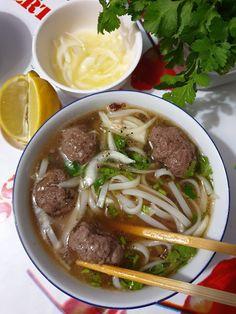 No Salt Recipes, Soup Recipes, Pho Bo, Thai Soup, K Food, Dinner For 2, Chefs, Asian Recipes, Ethnic Recipes