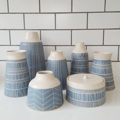 """1,276 Likes, 13 Comments - Hilda Carr (@hildacarrpottery) on Instagram: """"Starting to build up Christmas market stock... Dates coming soon!"""" #PotteryClasses"""