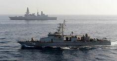 U.S. 5th FLEET AREA OF RESPONSIBILITY (May 21, 2013) The coastal patrol craft…