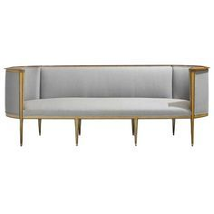 Classic 1920's Swedish Sofa | From a unique collection of antique and modern sofas at http://www.1stdibs.com/furniture/seating/sofas/