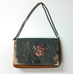 a book clutch