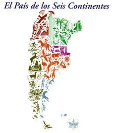 Argentina el país de los seis continentes