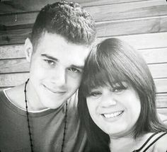 Zabdiel and his mom