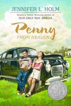 Penny from Heaven gives kids a glimpse into a surprising segment of American history during and after the Second World War.  Shockingly, more than 3000 of these Italian- American citizens were arrested and sent to internment camps (much like many Japanese Americans). Review from Nerdy Book Club.