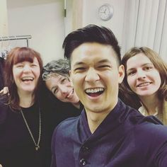 @harryshumjr: Just had my last Magnus Bane fitting for the season! Going to miss the 2 hour creative fittings where I got to play fashion designer with these lovely ladies. (Shelly, Barbie and Megz- Our costume designing team) Thanks for dealing with my random request for MORE shiny things. Loved this part of the job and can't wait for you all to see the final product! @shadowhunterstv #secondskin #theprepwork