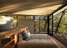 contemporary bedroom by Nautilus Architects LLC