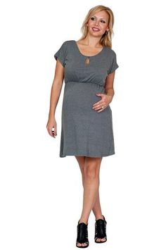 Maternity Dresses - Peek-A-Boo