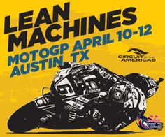 Motogp returns to the circuit of the americas track in austin tx