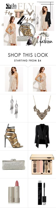 """""""Shein - contest"""" by zijadaahmetovic ❤ liked on Polyvore featuring Inox, Tom Ford, Alexander McQueen, Ilia and Christian Dior"""