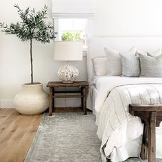 Cozy Bedroom, Home Decor Bedroom, Master Bedroom, Living Room Interior, Home Interior Design, Interior Plants, Interior Modern, Bungalow Interiors, Bungalow Bedroom