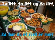 Happy #Meme #Mandag!  As many of us are recovering from the copious amounts of food offered at Super Bowl parties, we hope you were able to hold on to the tried and true rule.  This tip has governed Skogfjorden meals, especially brunsj, to ensure that you are able to try all the tasty options while making sure that everyone gets to try everything!  The first person gets as much as the last person and you always end up with that mountain of food at the end of the line.