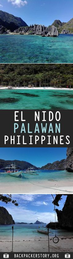 Backpackers guide to El Nino. El Nido is located at the north of Palawan in Philippines. One of the most popular backpacker destinations in the Philippines El Nido Palawan, Backpacker, Cheap Web Hosting, Philippines, Big, Pictures, Travel, Photos, Viajes