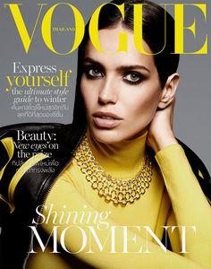 bf857f3496567 Amanda Wellsh, Vogue Thailand November 2015 by Yu Tsai Feminino, Beleza,  Capas De