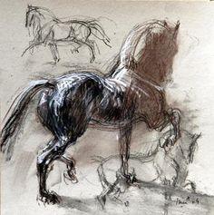 jean louis sauvat | Jean-Louis Sauvat, artiste et cavalier